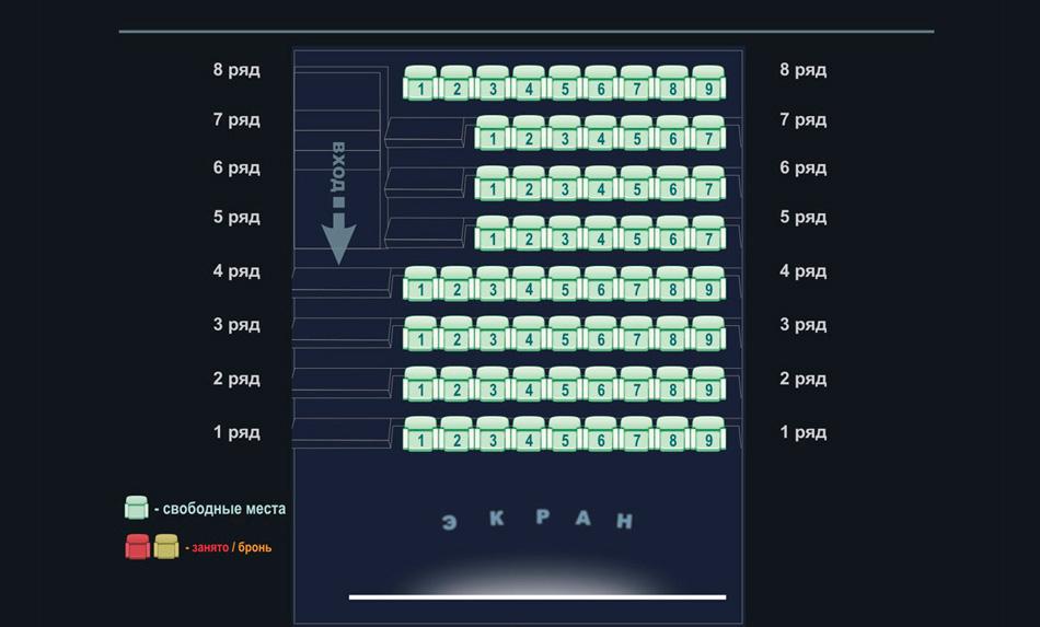 заказать билеты в кинотеатрах мурманска