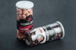 Попкорн MacGuffin йогурт и малина